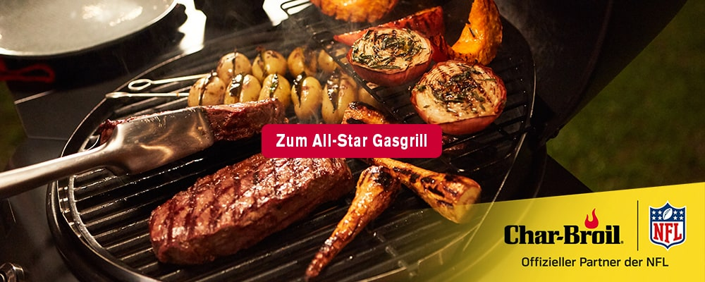All-Star Char-Broil Gasgrill